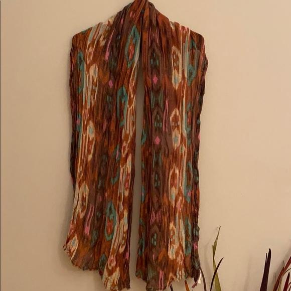 """H&M Accessories - EUC H&M multi colored brown scarf/wrap 72"""""""